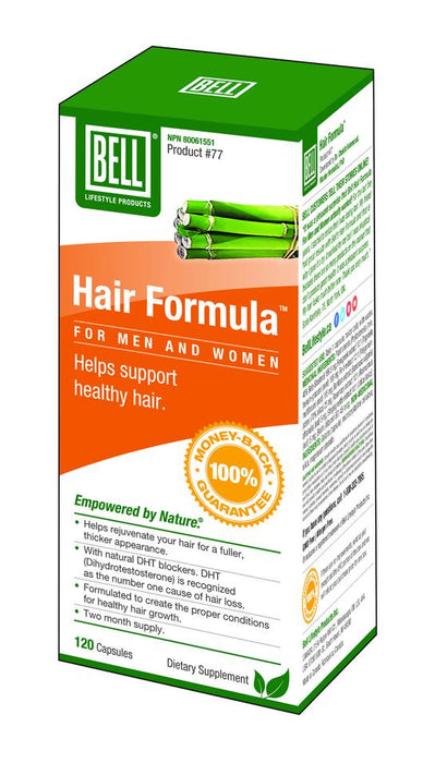 Bell Lifestyle Products Hair Formula For Men And Women 120 Capsules
