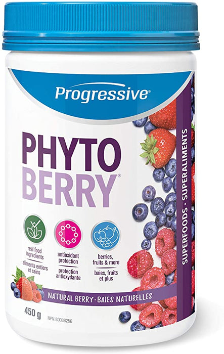 Progressive - PhytoBerry (Natural Berry Flavour) 450g