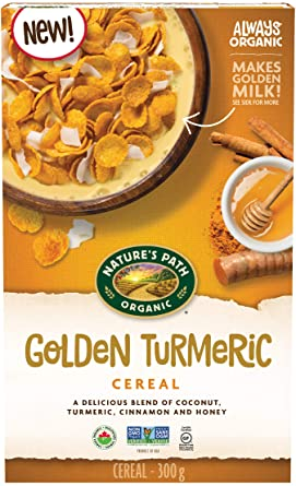 Nature's Path Organic Cereal - Golden Turmeric (Gluten Free) 300g