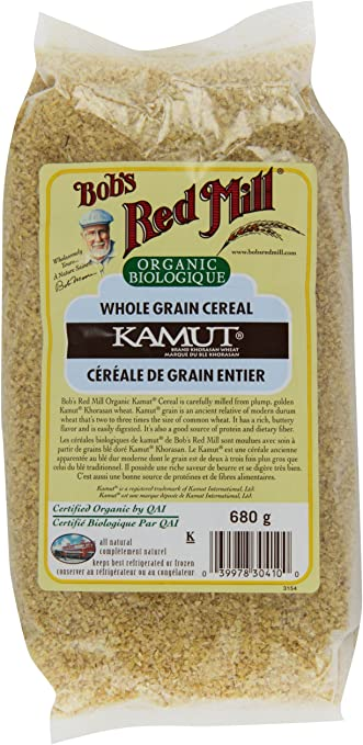 Bob's Red Mill Organic Whole Grain Kamut Cereal 680g