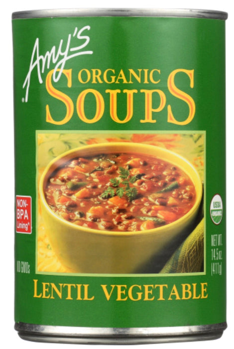 Amy's Organic Soups - Lentil Vegetable 398ml