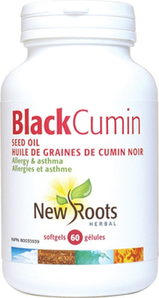 New Roots - Black Cumin Seed Oil 500mg 60 Softgels