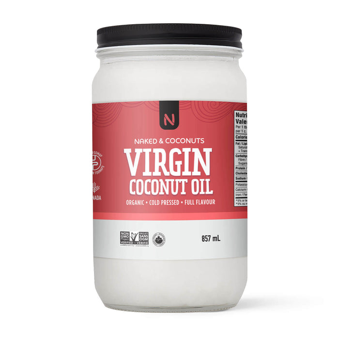 Naked Natural-Virgin Cold Pressed Organic Coconut Oil 857ml