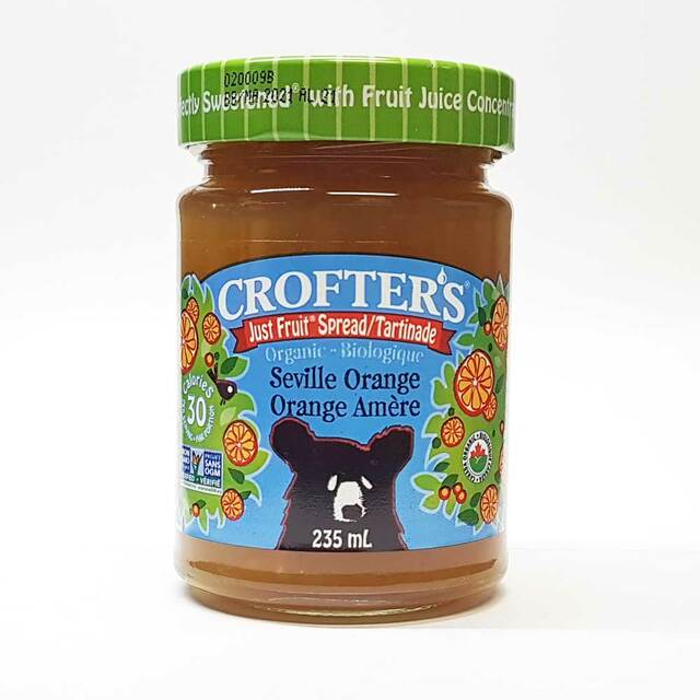 Crofter's Organic Just Fruit Spread - Seville Orange