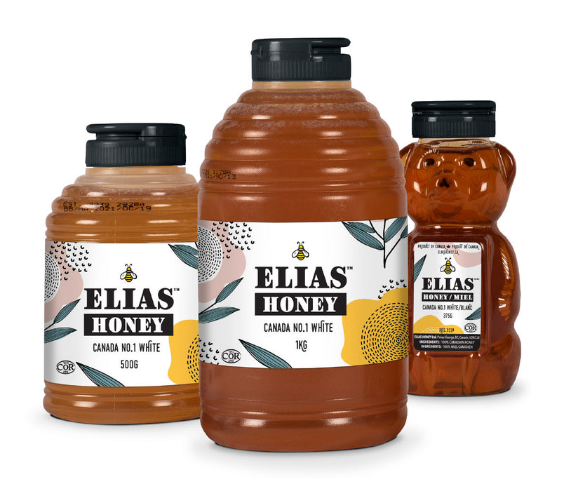 Elias Honey - Canada No.1 White 375g