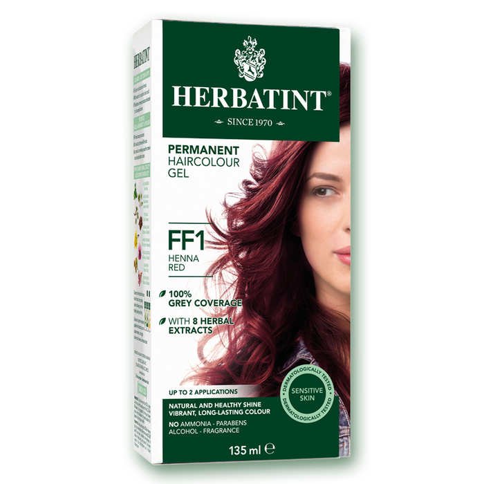 Herbatint Permanent Hair Colour (FF1 - Henna Red) 135ml