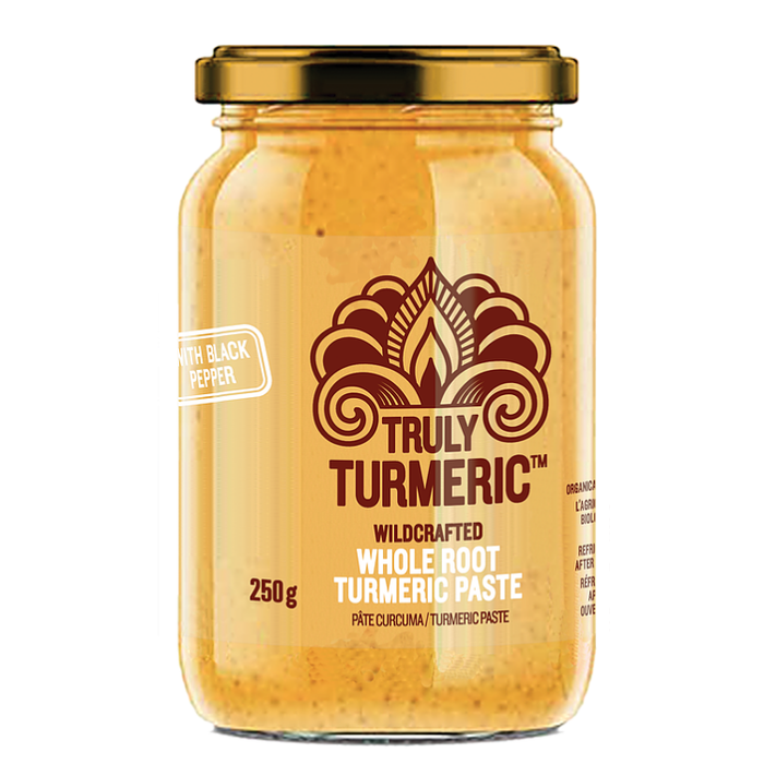 Truly Turmeric - Whole Root Paste - Black Pepper Paste 250g