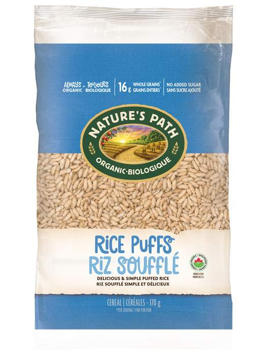 Nature's Path Organic Cereal - Rice Puffs 170g
