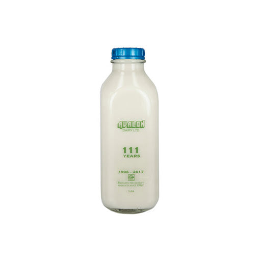 Avalon 3.25% Whole Organic Milk 1l