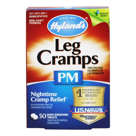 Hyland's Leg Cramps PM 50 Tablets
