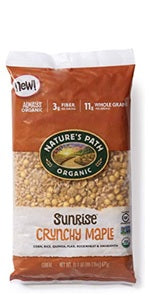 Nature's Path Organic Cereal - Sunrise Crunchy Maple (Gluten Free) 675g