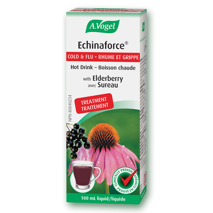 A. Vogel - Echinaforce Cold & Flu Hot Drink (with Elderberry) 100ml
