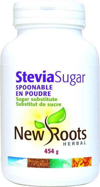 New Roots Stevia Sugar Spoonable 454g
