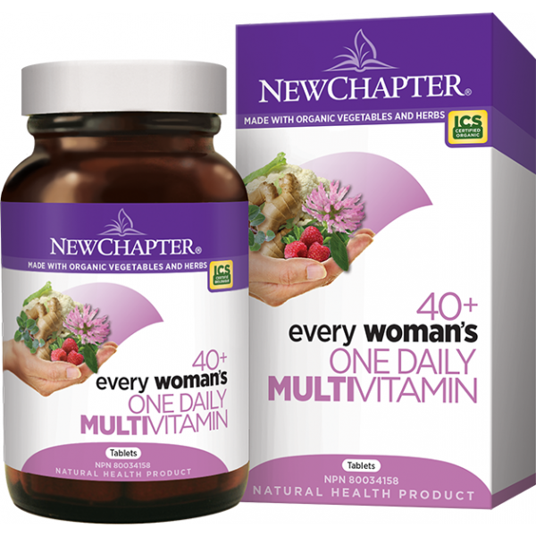 New Chapter Every Woman's One daily Multivitamin (40+) 48 Tablets