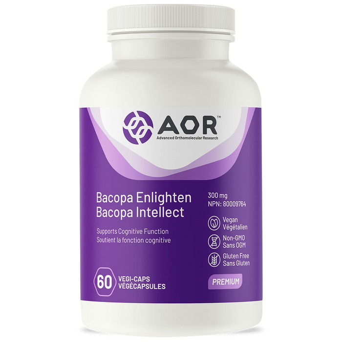 AOR Bacopa Enlighten Bacopa Intellect 60 Capsules