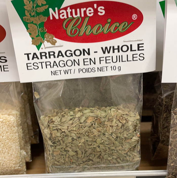 Nature's Choice Spices & Seasonings - Tarragon - Whole 10g