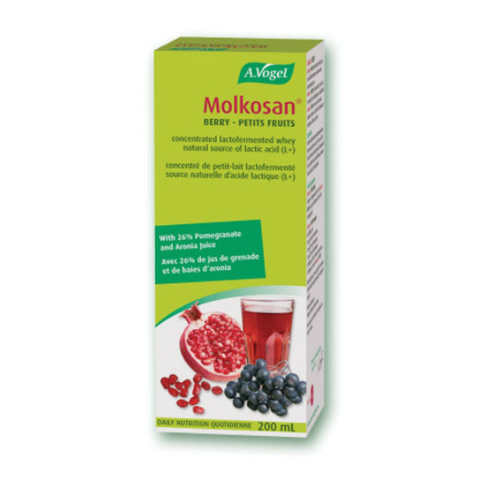 A. Vogel Molkosan Fermented Natural Source of Lactic Acid 200ml
