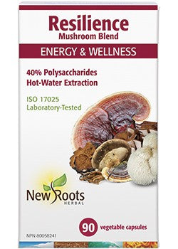 New Roots Mushroom Blend Energy & Wellness 90 Vegecaps