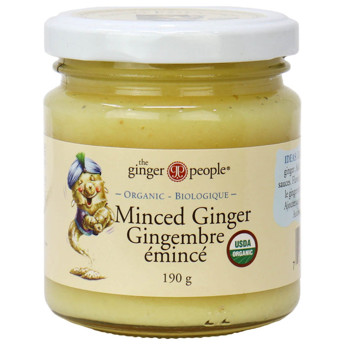 The Ginger People Organic Ginger - Minced 190g