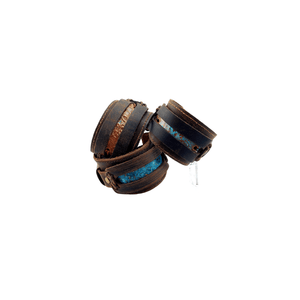 LEATHER & COPPER CUFFS