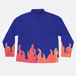 Blue Molotov Jacket