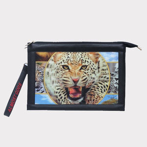 "The ""Lenticular Leopard"" Clutch"