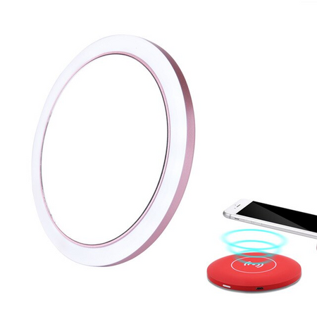 Wireless Charging LED Mirror