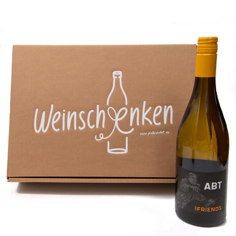 Load image into Gallery viewer, Geschenkset Weingläser & Chardonnay & Friends