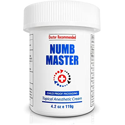 tattoo numbing cream by Numb Master