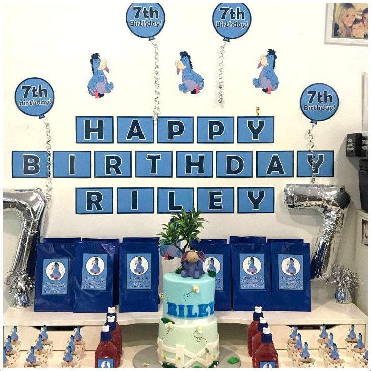 Adorable Eeyore Birthday Party Ideas & Photos