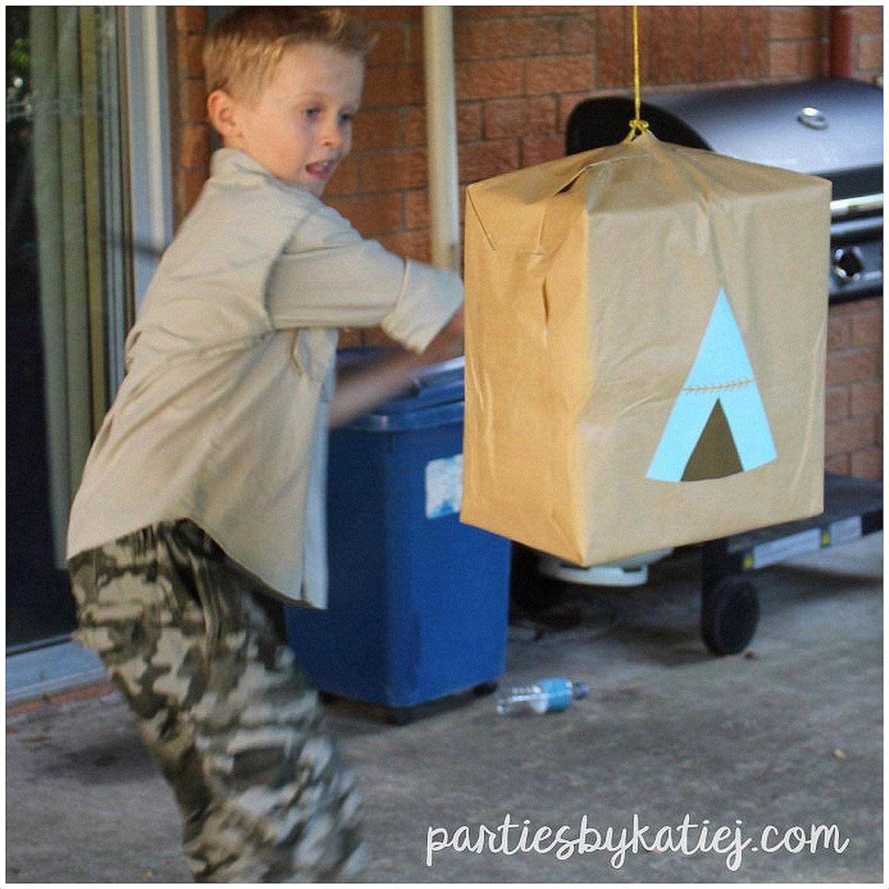 Easy to Make DIY Kids Party Pinata