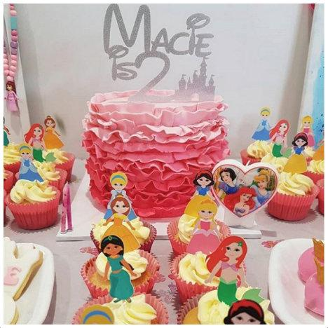 Gorgeous Disney Princess Birthday Party Ideas & Photos