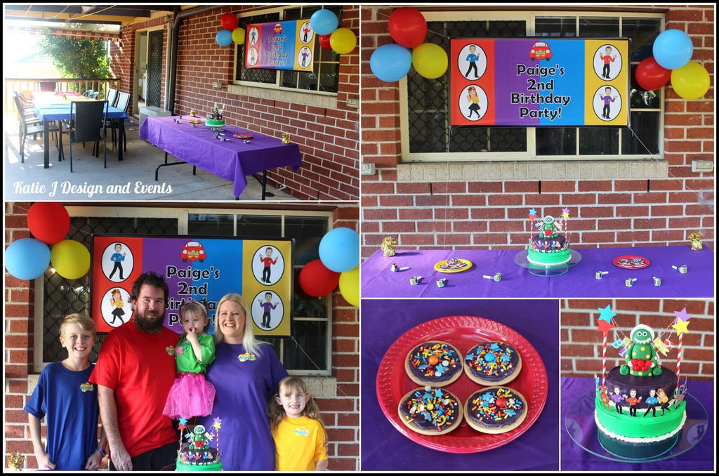 The Wiggles Party Photos Setup