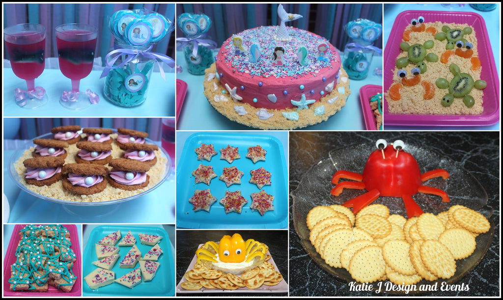 Mermaid Party Food Ideas Photos