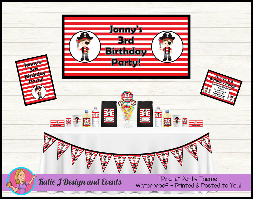 Pirate Party Decorations Supplies