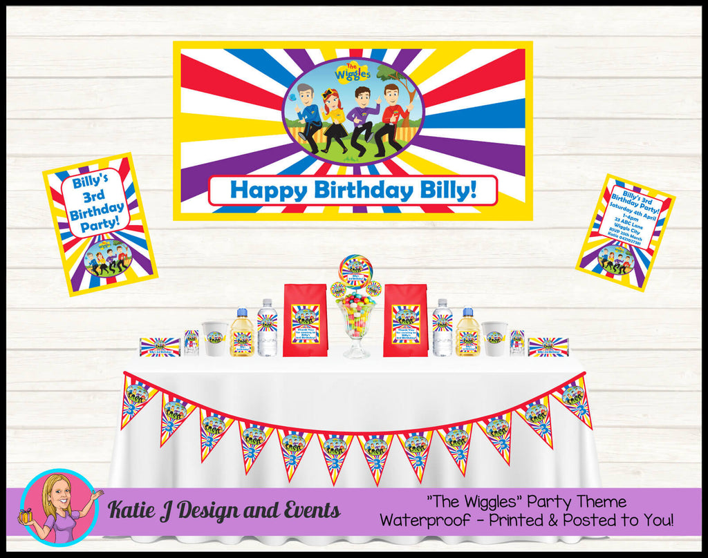 The Wiggles Party Decorations Supplies