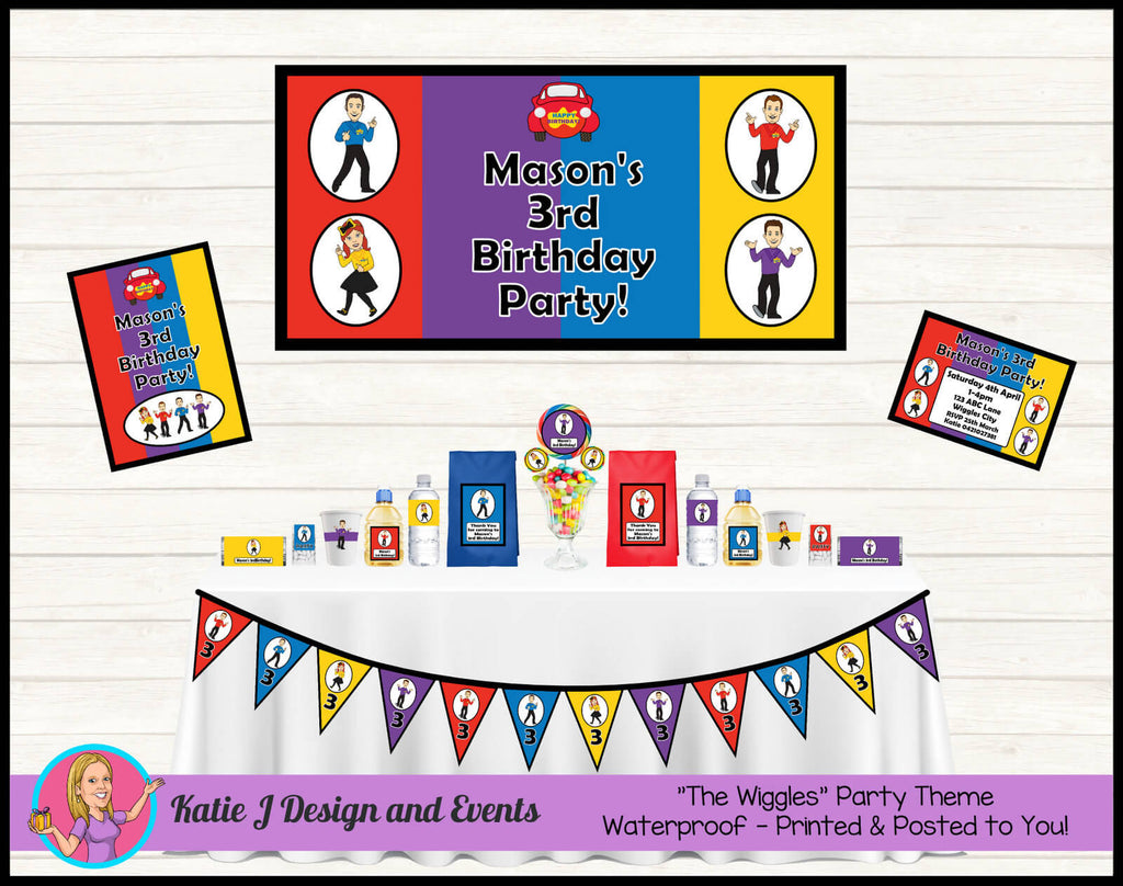 The Wiggles Party Decorations Supplies Ideas