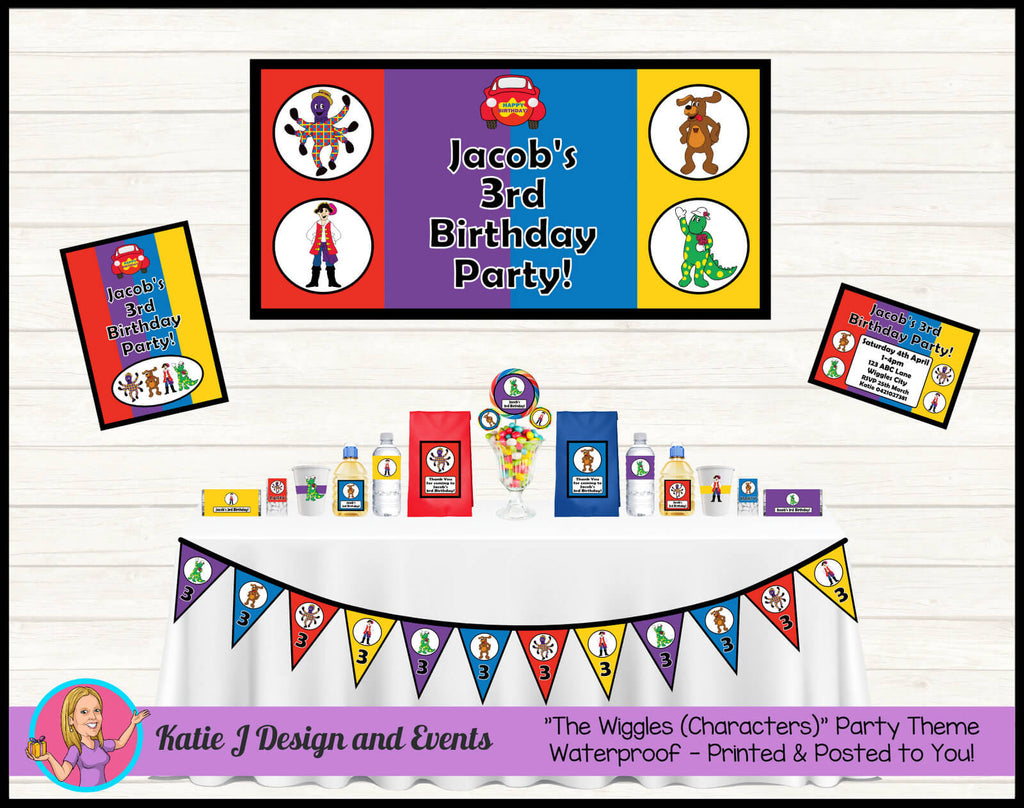 The Wiggles Birthday Party Decorations Supplies Ideas