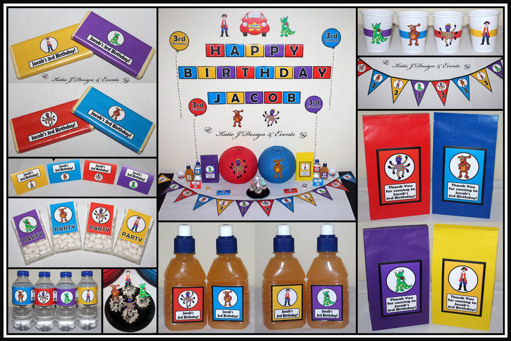 The Wiggles Party Supplies Decorations