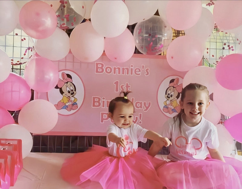 Baby Minnie Mouse Party Photo