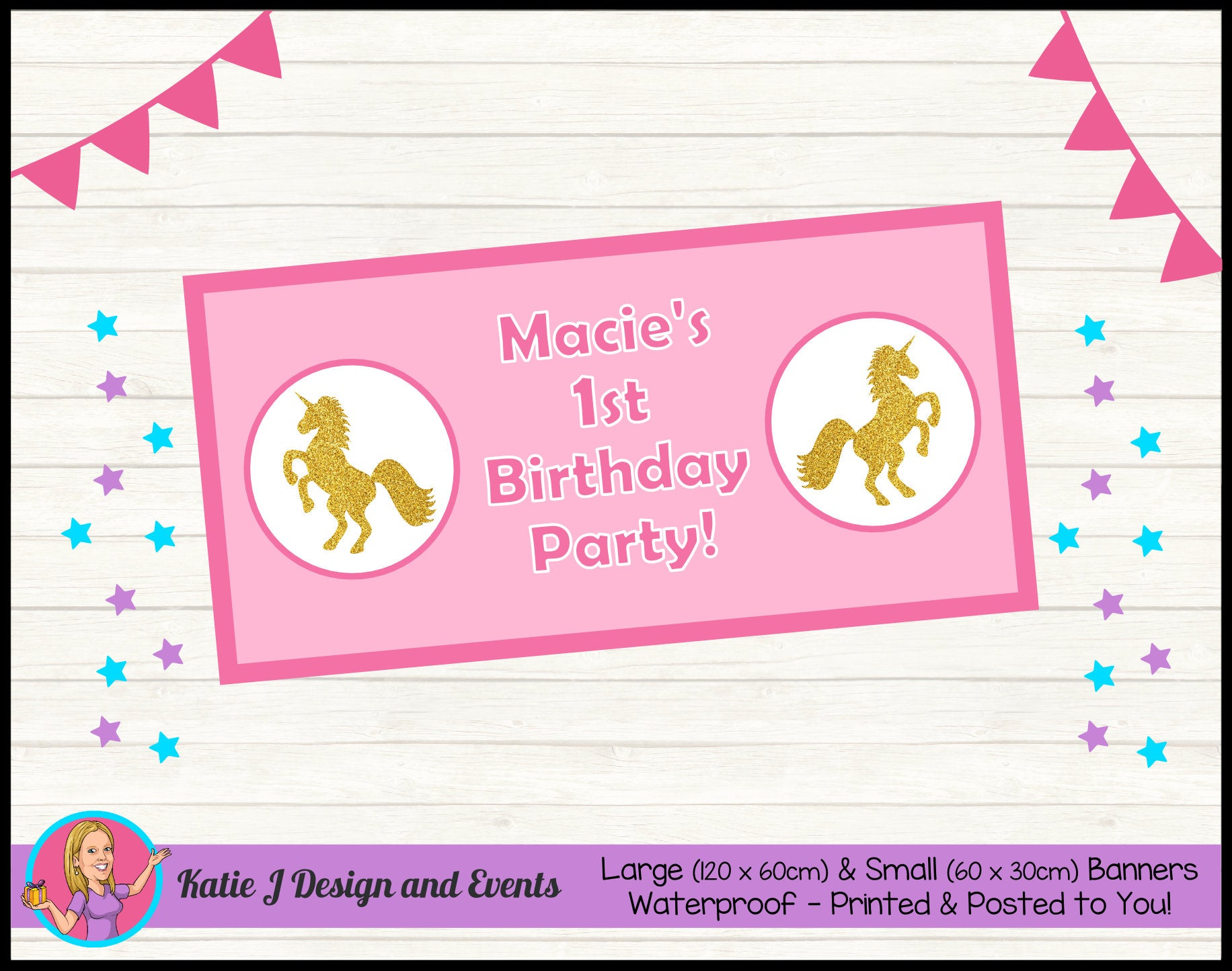 Personalised Custom Canvas Banners