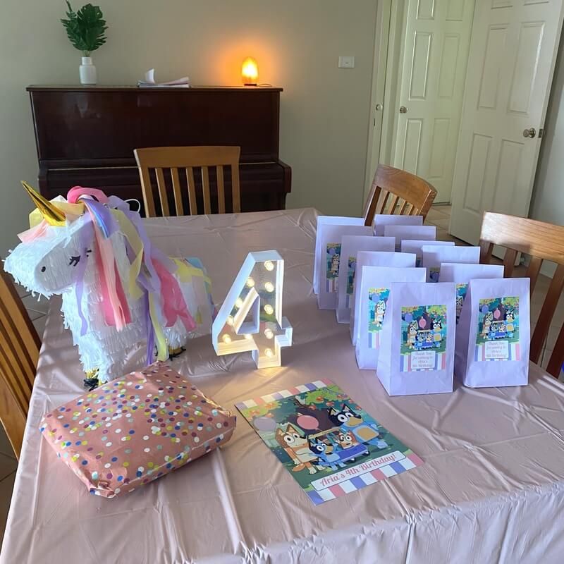 Bluey Birthday Party Bags