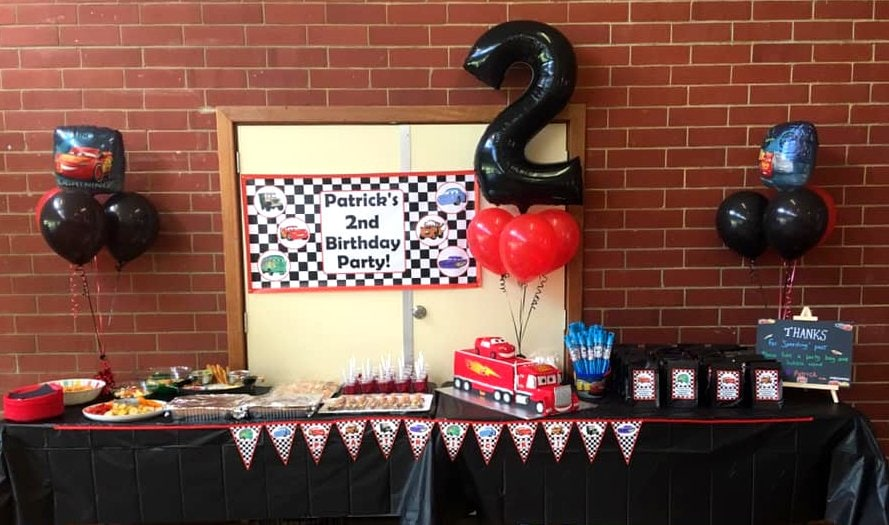 Cars Lightning McQueen Birthday Party Photos Decorations