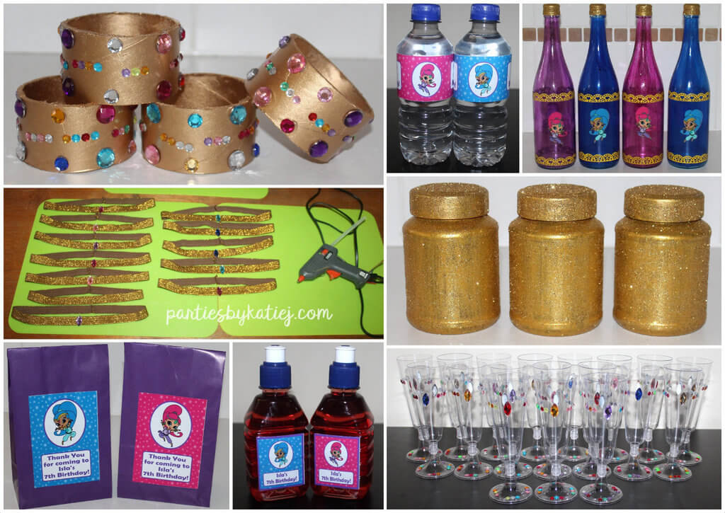 DIY Shimmer & Shine Party Decorations