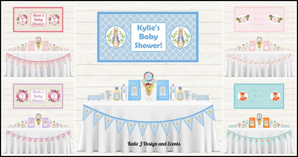 Baby Shower Decorations Supplies Afterpay