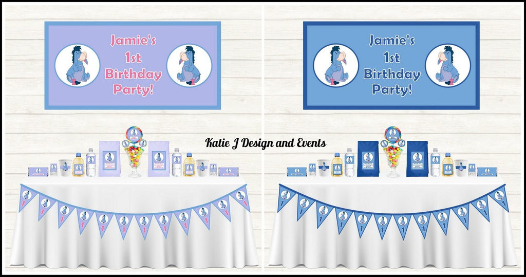 Eeyore Party Decorations Supplies