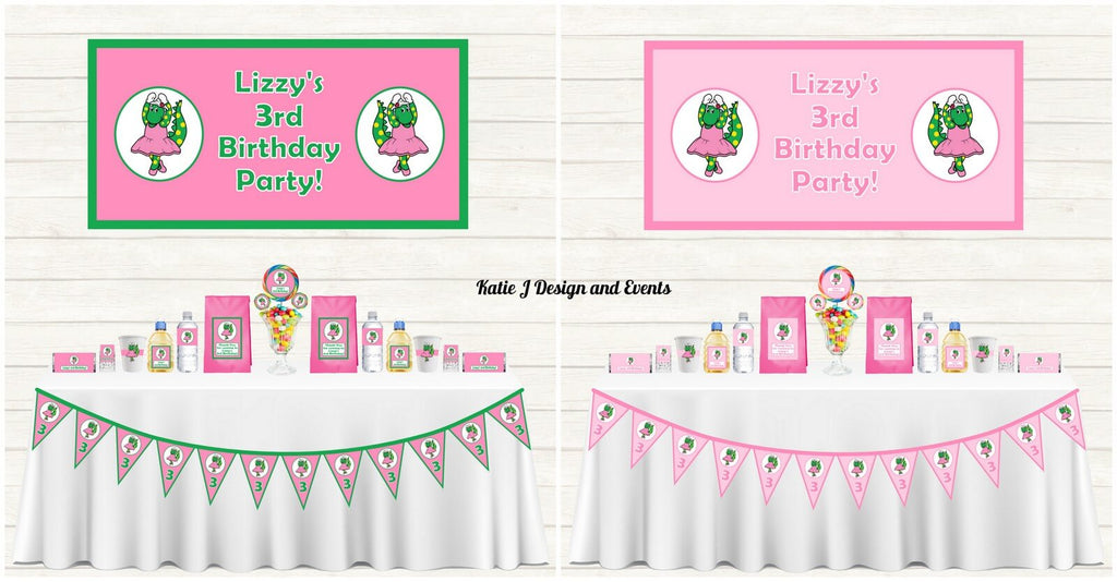 Dorothy the Dinosaur Party Decorations Supplies Ideas