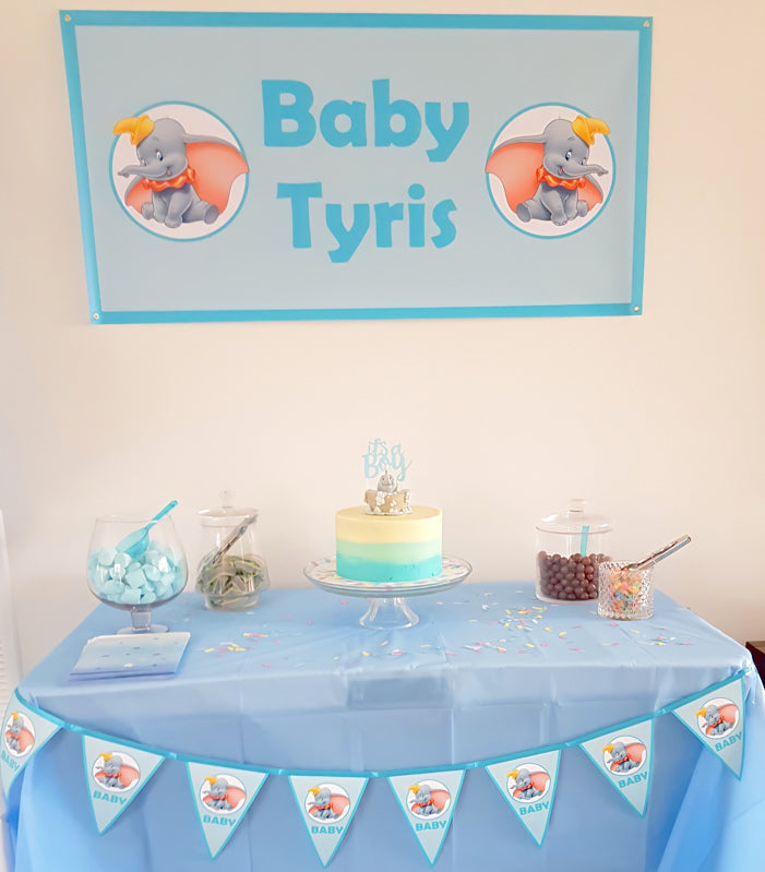 Dumbo Baby Shower Decorations Photos