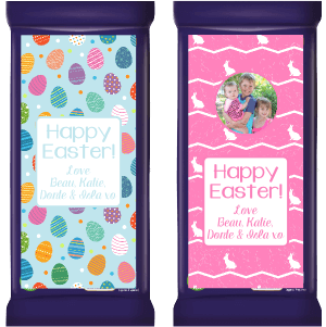 Easter Gift Cadbury Chocolate Labels