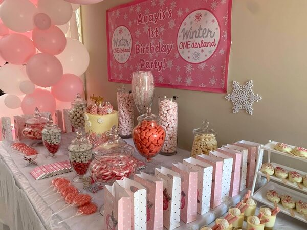 Girls Winter Onederland Birthday Party